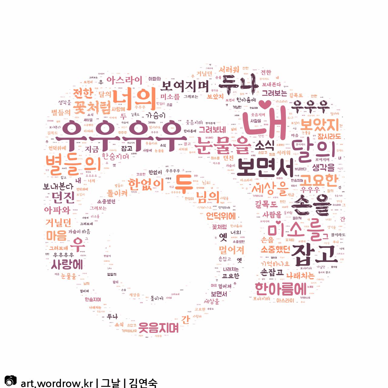 워드 아트: 그날 [김연숙]-76